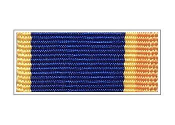 Лента медали «За заслуги в борьбе с террором»