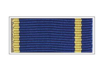 Лента медали «За заслуги в контрразведке»