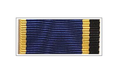 Лента медали «За заслуги в обеспечении информационной безопасности»