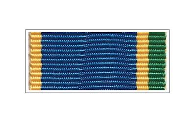 Лента медали «За заслуги в пограничной деятельности»