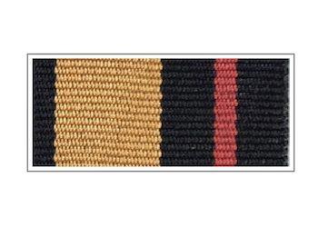 Лента медали «За заслуги в увековечении памяти погибших защитников Отечества»