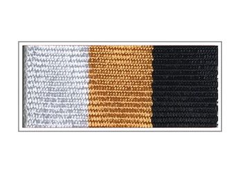 Лента медали «Защитнику Отечества»