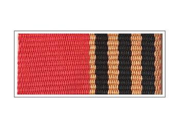 Лента в медали Жукова