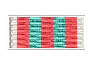 Лента Знака «Служба на Кавказе»