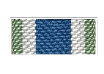 Лента Знака «За службу в Заполярье»