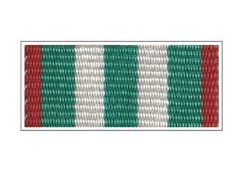 Лента Знака «За заслуги в пограничной службе» I степени