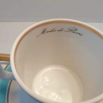 Гравировка внутри чашки