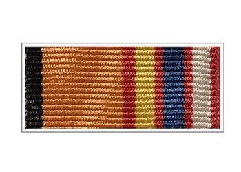 Лента медали «100 лет Московскому ВОКУ»