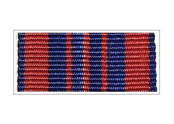 Лента медали «50 лет Cоветской милиции»