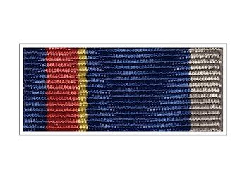 Лента медали «55 лет РВСН»