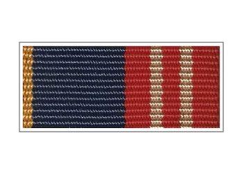 Лента медали ФАПСИ «За воинскую доблесть» II степени