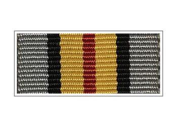 Лента медали «Ветераны подразделений особого риска»