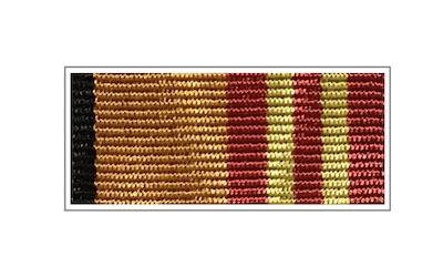 Орденские планки и колодки к медали «За достижения в военно-политической работе»