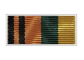 Лента медали «За вклад в химическое разоружение»