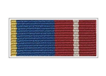 Орденская планка ФАПСИ «За воинскую доблесть» I степени