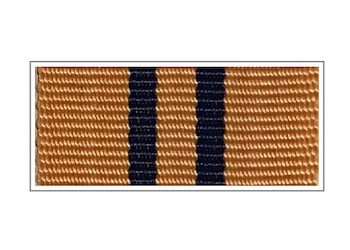 Орденская планка и колодка «Рысь» II степени