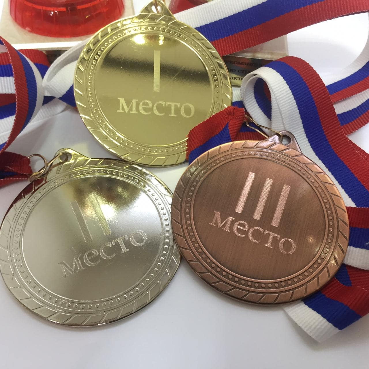 Механическая гравировка медалей