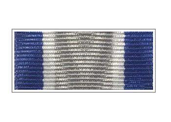 Лента медали 95 лет службе Участковых Уполномоченных Полиции МВД РФ