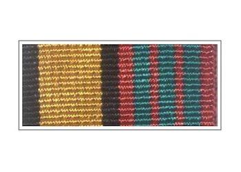 Орденская планка «За отличие в военной службе» III степени (нового образца)