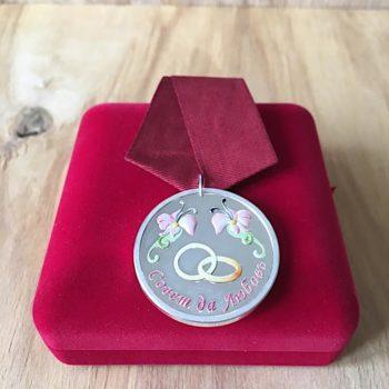 Медаль на свадьбу